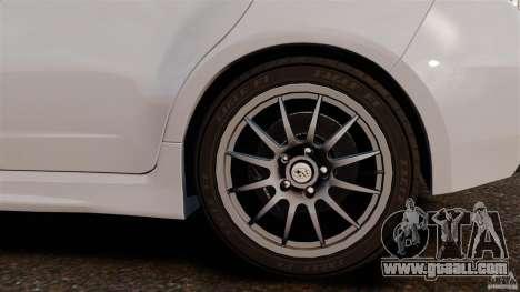 Subaru Impreza Cosworth STI CS400 2010 v1.2 for GTA 4 inner view