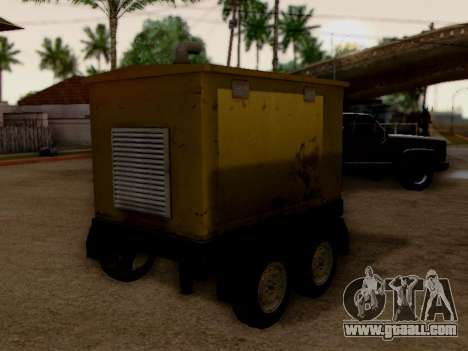 Trailer Generator for GTA San Andreas back left view