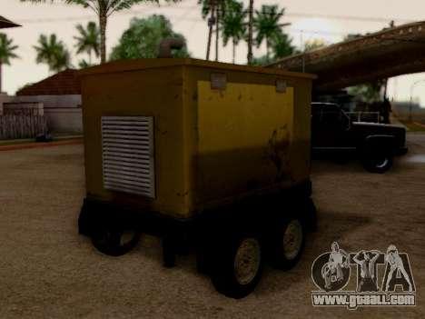 Trailer Generator for GTA San Andreas back left view