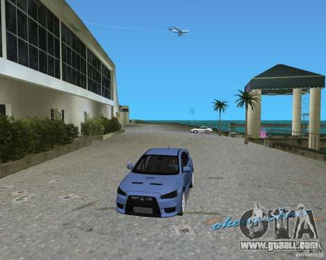 Mitsubishi Lancer Evo X for GTA Vice City