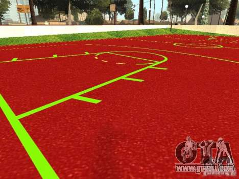Basketball Court for GTA San Andreas second screenshot