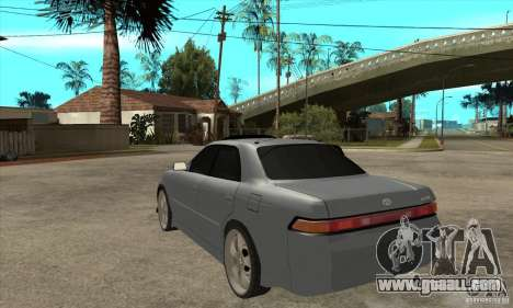 TOYOTA MARK II GT for GTA San Andreas back left view