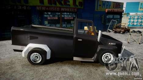 Desoto Ad250 4x4 for GTA 4 back view