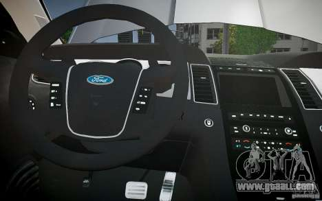Ford Taurus SHO 2010 for GTA 4 engine
