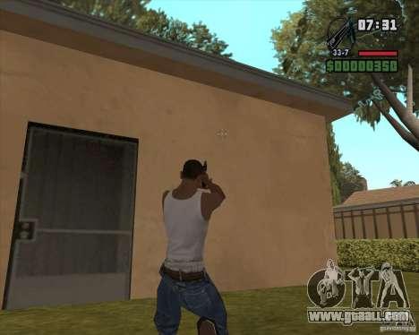 Black Chrome Eagle for GTA San Andreas second screenshot