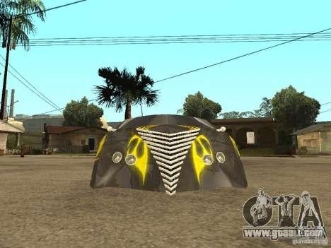 Thunderbold SlapJack for GTA San Andreas back view