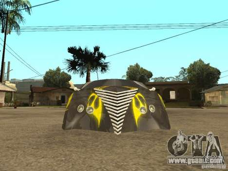 Thunderbold SlapJack for GTA San Andreas interior