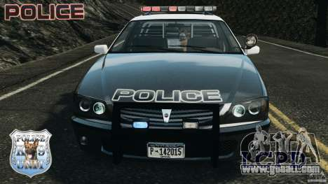 LCPD K9 Unit for GTA 4 side view