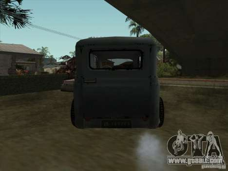 The Vehicle Of The Second World War for GTA San Andreas back left view