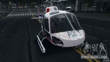 Eurocopter AS350 Ecureuil (Squirrel) Malaysia for GTA 4 left view