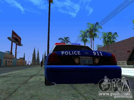 Ford Crown Victoria Belling State Washington for GTA San Andreas right view