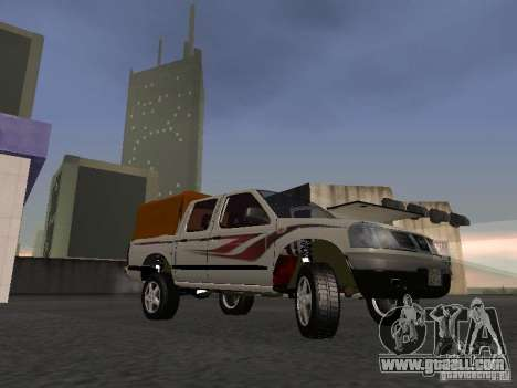 Nissan Pickup for GTA San Andreas left view