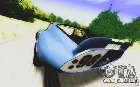 Shelby Cobra Daytona Coupe v 1.0 for GTA San Andreas right view
