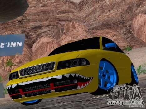 Audi S4 DatShark 2000 for GTA San Andreas side view