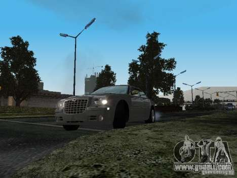 Chrysler 300C HEMI 5.7 2009 for GTA San Andreas back view