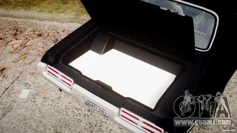 Pontiac GTO Judge for GTA 4 side view