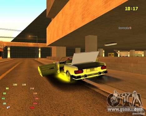 Extreme Car Mod SA:MP version for GTA San Andreas fifth screenshot