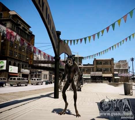 Werewolf from Skyrim for GTA 4 second screenshot