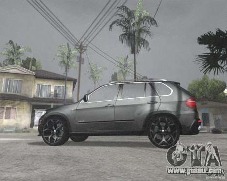 BMW X5 2009 Tune for GTA San Andreas left view