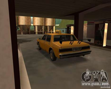 LV Taxi for GTA San Andreas right view