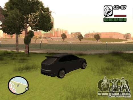 Ford Focus RS 2009 for GTA San Andreas left view