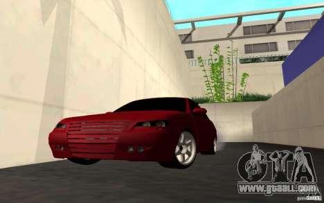 LADA PRIORA van tuning for GTA San Andreas bottom view