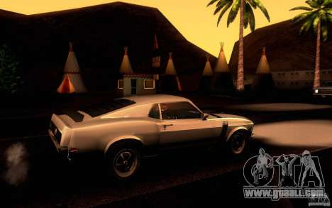 Ford Mustang Boss 302 for GTA San Andreas side view