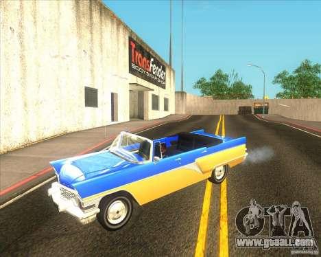 GAZ Chaika 13B for GTA San Andreas