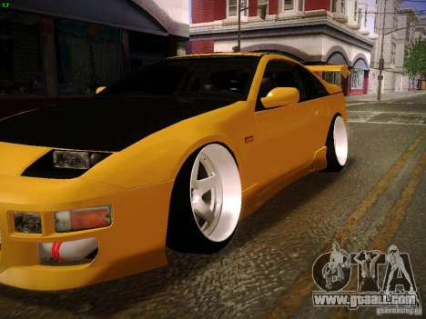 Nissan 300ZX Drift for GTA San Andreas back left view