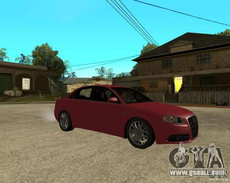 Audi S4 tunable for GTA San Andreas right view