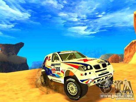 BMW X3 King Dessert for GTA San Andreas
