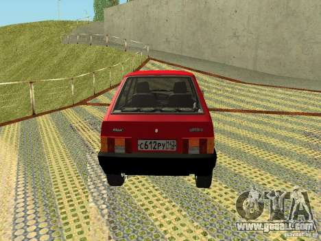 VAZ 2109 v2 for GTA San Andreas right view