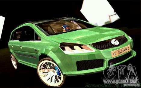 G1 MPV for GTA San Andreas
