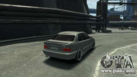 BMW 318i Light Tuning for GTA 4 right view