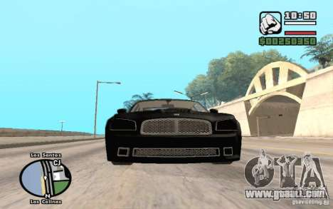 Dodge Charger SRT8 for GTA San Andreas right view
