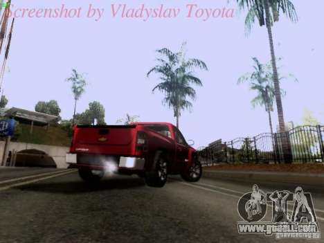 Chevrolet Cheyenne Single Cab for GTA San Andreas side view