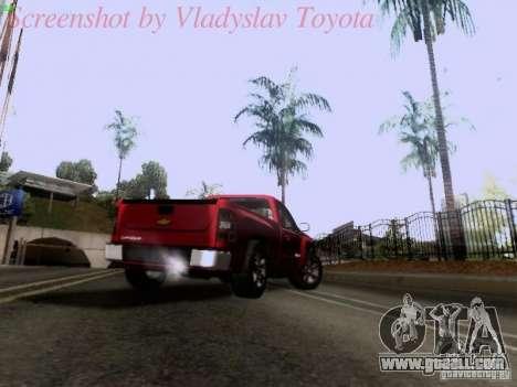 Chevrolet Cheyenne Single Cab for GTA San Andreas side view
