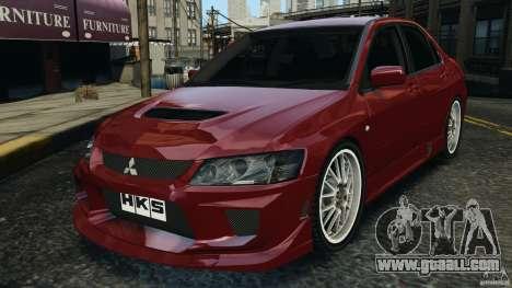 Mitsubishi Lancer Evolution 8 for GTA 4