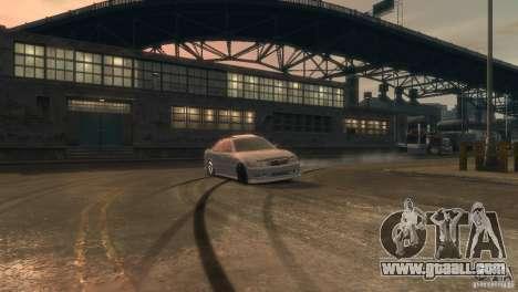 Toyota Chaser 2.5 Tourer V for GTA 4 inner view