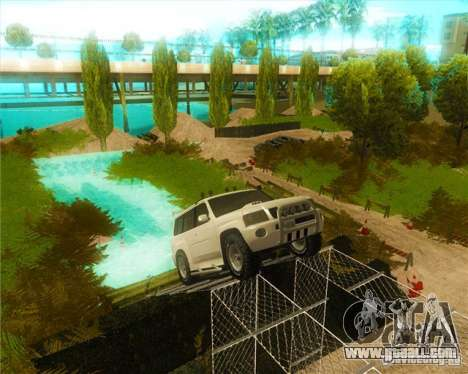 Off-Road Track for GTA San Andreas second screenshot