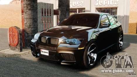 BMW X6 M 2010 for GTA 4