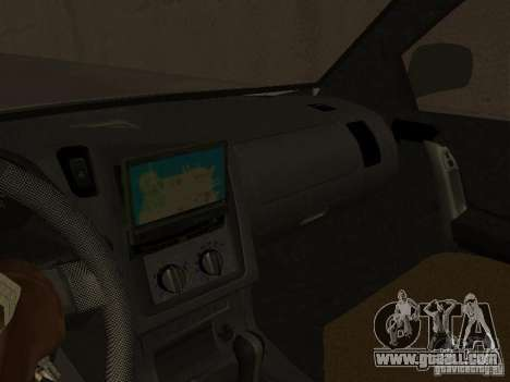 Opel Combo 2005 for GTA San Andreas back view