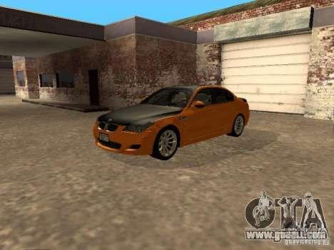 BMW M5 E60 2009 v2 for GTA San Andreas right view