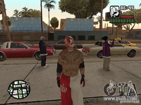 Rey Mysterio for GTA San Andreas second screenshot