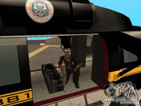 GTA 4 Annihilator Enterable for GTA San Andreas right view