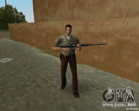 Pak weapons of S.T.A.L.K.E.R. for GTA Vice City seventh screenshot