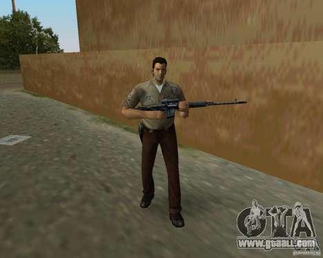 Pak weapons of S.T.A.L.K.E.R. for GTA Vice City seventh screenshot