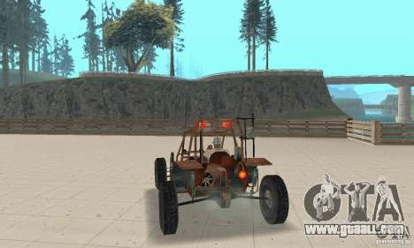 Half-Life Buggy for GTA San Andreas left view
