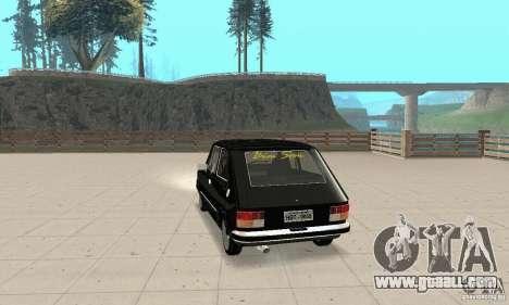 Fiat 147 Brio 1977 for GTA San Andreas left view