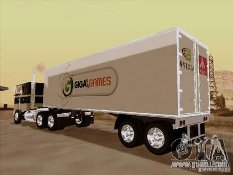 Caband trailer for GTA San Andreas